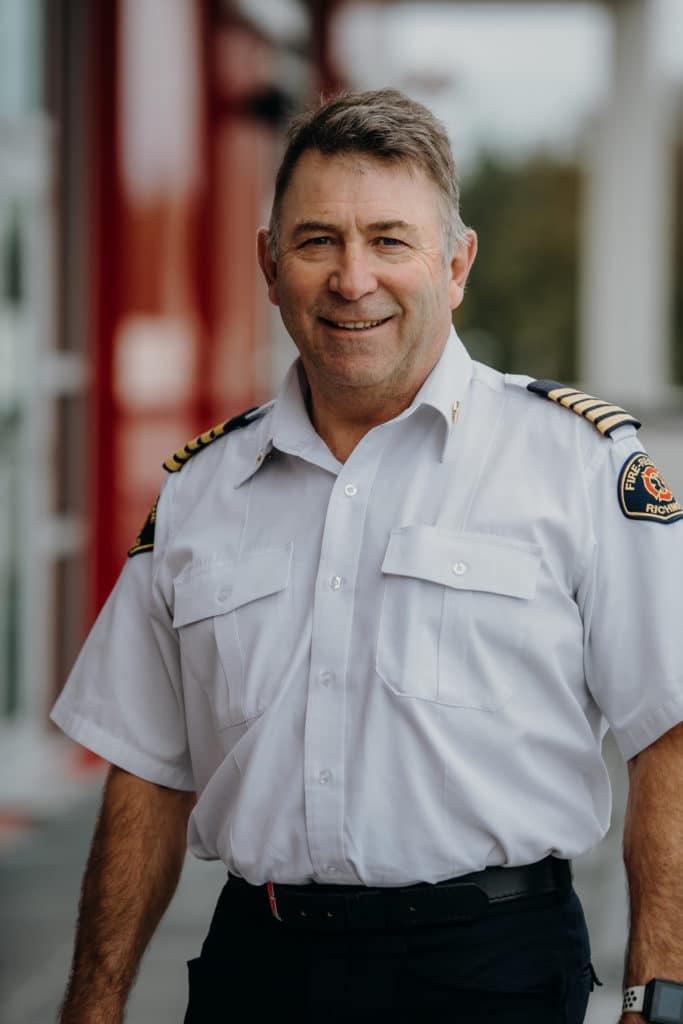 Tim Wilkinson, Fire Chief