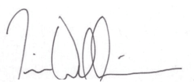 Signature of Tim Wilkinson, Fire Chief