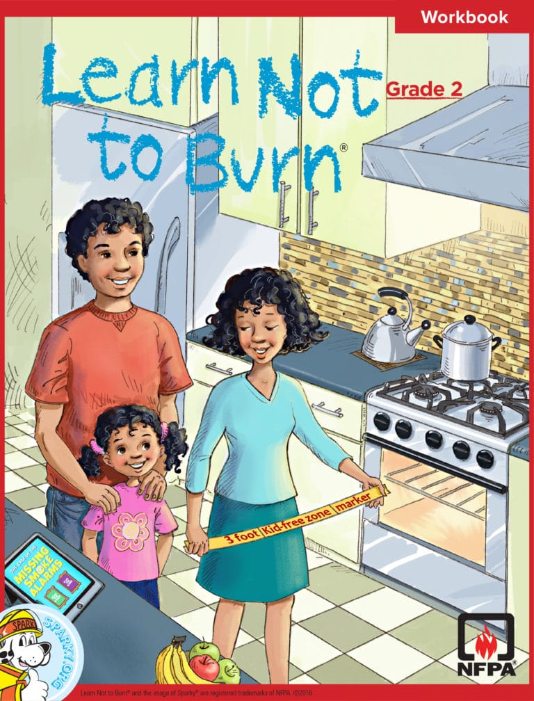 Learn Not to Burn Grade 2 Workbook