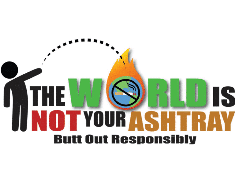 The World Is Not Your Ashtray Logo