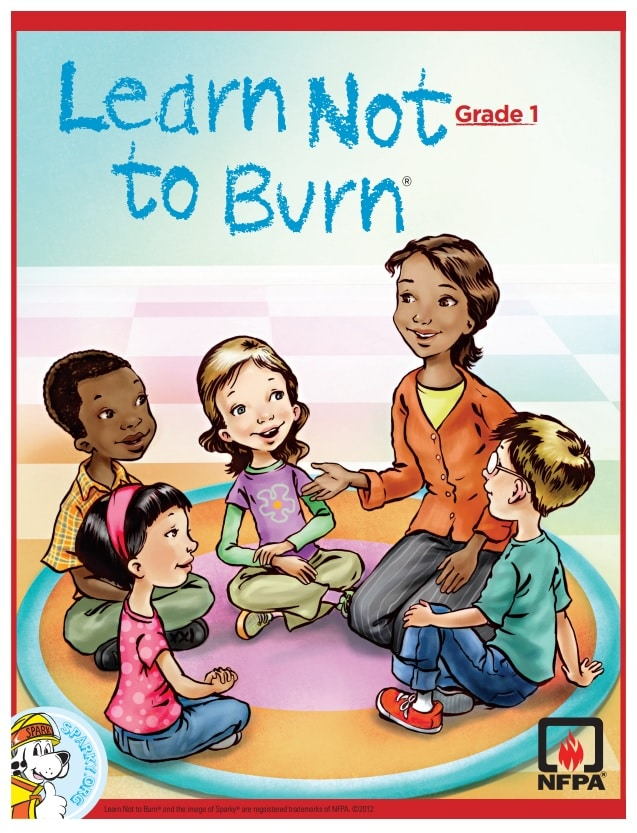 Learn Not to Burn Grade 1 Workbook