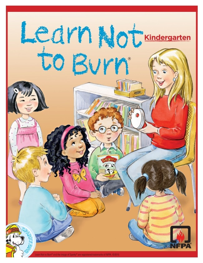 Learn Not to Burn Grade K Workbook